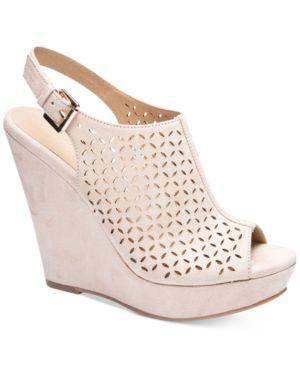 Chinese Laundry Monique Platform Wedge Sandals Women