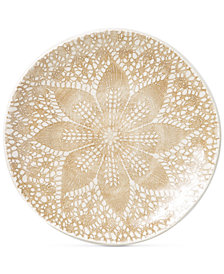 Viva by Vietri  Lace Collection 4-Pc. Cocktail Plate Set