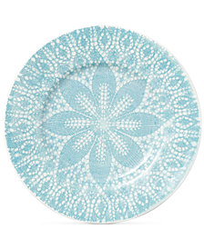 Viva by Vietri  Lace Collection Dinner Plate