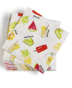 Martha Stewart Collection Paper Napkins, Set of 20, Created for Macy's 4351816