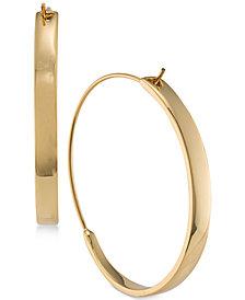 Lauren Ralph Lauren Gold-Tone Hoop Earrings