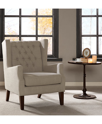 Stedman Fabric Accent Chair Quick Ship Furniture Macy S