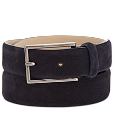 BOSS Men's Gavrilo Suede Belt
