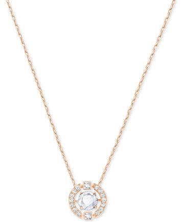 Swarovski floating crystal pendant necklace fashion jewelry image 1 of swarovski floating crystal pendant necklace aloadofball Image collections