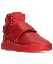 adidas Big Boys' Tubular Invader Strap Mono Casual Sneakers from Finish Line