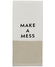 "kate spade new york ""Make a Mess"" Kitchen Towel"
