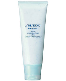 Shiseido Pureness Deep Cleansing Foam, 3.6 oz