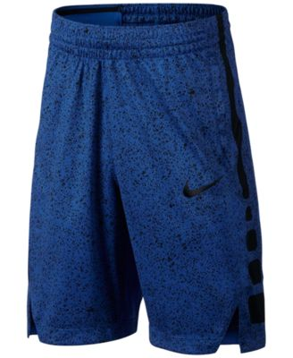 Image of Nike Dry-FIT Elite Printed Basketball Shorts, Big Boys (8-20)