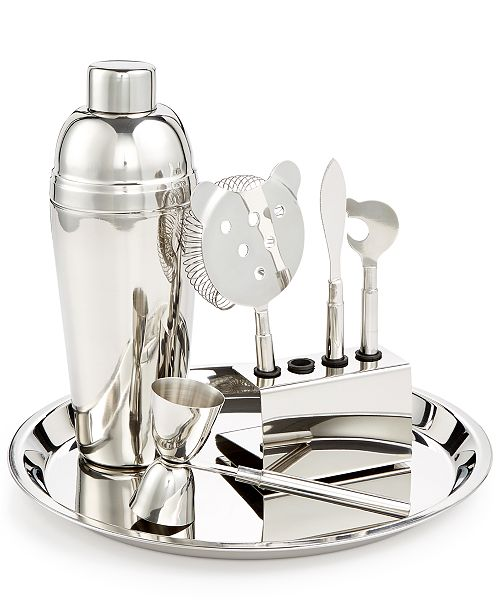 Martha Stewart Collection 7-Pc. Bar Tool Set, Created for Macy's
