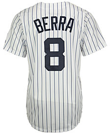 Majestic Men's Yogi Berra New York Yankees Cooperstown Player Replica CB Jersey