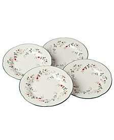 Winterberry Dinner Plates, Set of 4