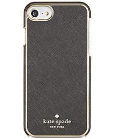 kate spade new york Leather-Inlay iPhone 7 Case