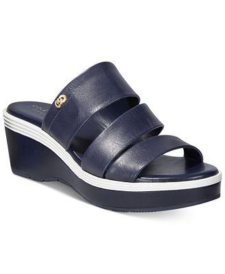 Cole Haan Allesa Grand Strappy Slide Sandals