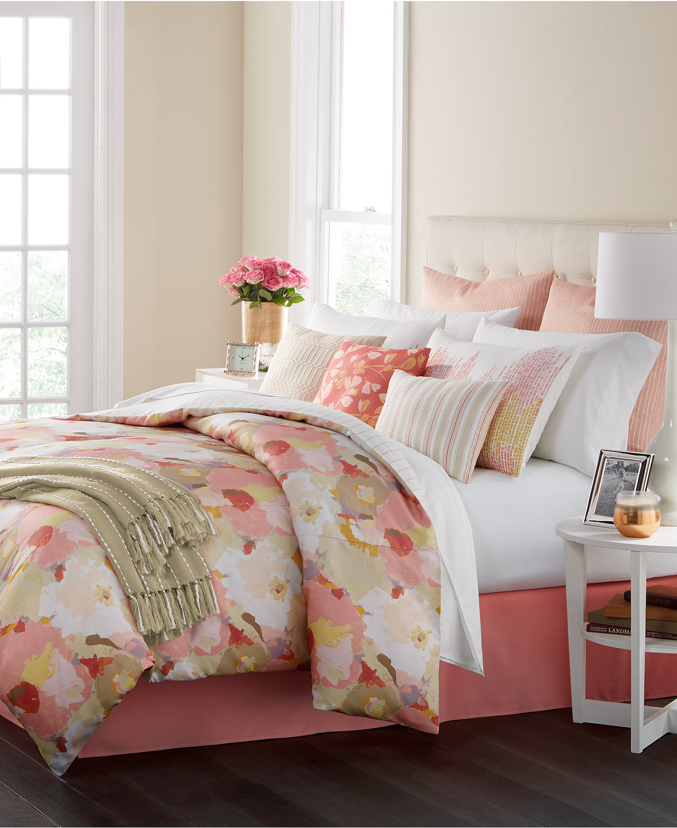 King Bedroom Bedding Sets Bed In A Bag And Comforter Sets Queen King More Macys
