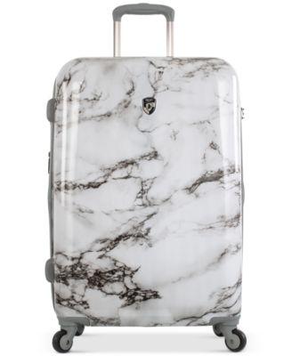 """Bianco Stone-Print 26"""" Hardside Spinner Suitcase"""