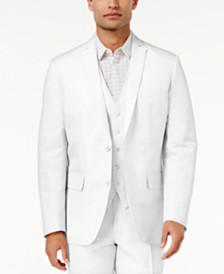 I.N.C. Men's Linen Blend Blazer, Created for Macy's