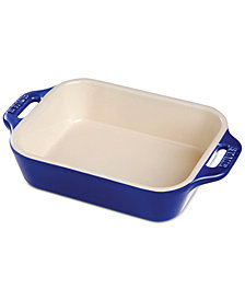 Staub Half-Quart Ceramic Rectangular Baking Dish