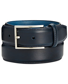 Ryan Seacrest Disctinction Perfect Tan Glove Leather Belt