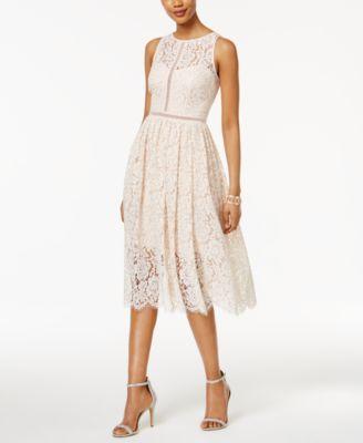 Macy's Tea Length Dresses