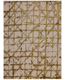 Karastan Enigma Contact Brushed Gold 8' x 11' Area Rug