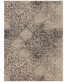 Karastan Cosmopolitan Virginia Langley Zendaya Indigo 8' x 11' Area Rug