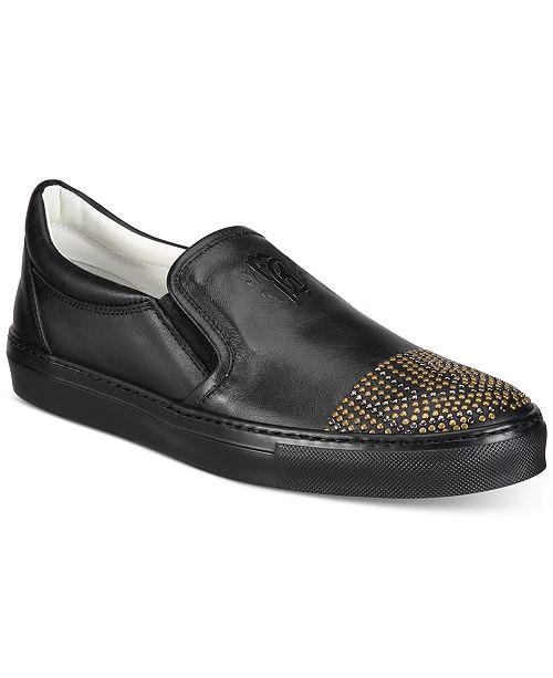 Roberto CavalliMen's Kale Slip-On Sneakers Men's Shoes jxjRrHG