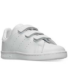 adidas Little Boys' Stan Smith Casual Sneakers from Finish Line
