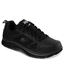 Skechers Men's Work Relaxed Fit: Flex Advantage SR Sneakers from Finish Line