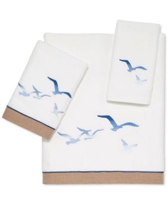 "Seagulls 27"" x 50"" Bath Towel"