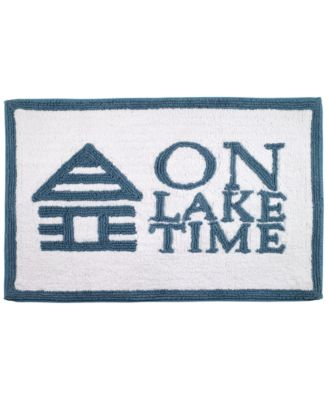 "Lake Words 20"" x 30"" Bath Rug"