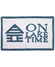 "Avanti Lake Words 20"" x 30"" Bath Rug"