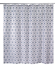 Dotted Circle Shower Curtain