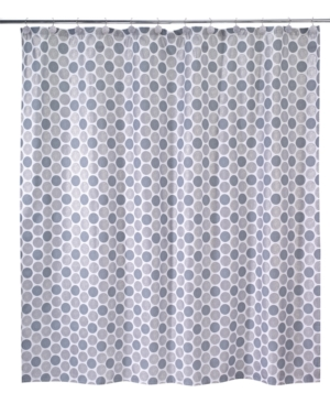 Croscill Bath Mosaic Leaves Shower Curtain