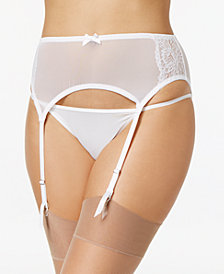 Maidenform Extra Sexy Floral-Lace Garter Belt DM1124, Created for Macy's