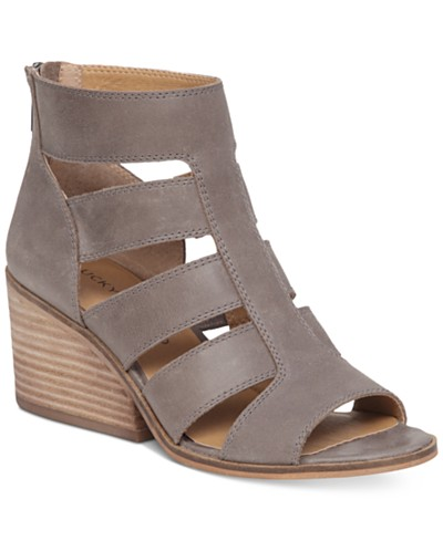 Lucky Brand Sortia Caged Booties