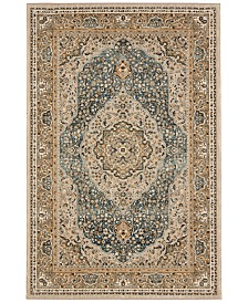 "Karastan Touchstone Avonmore Bronze 3'6"" x 5'6"" Area Rug"