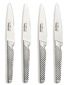 Stainless Steel 4-Pc. Steak Knife Set