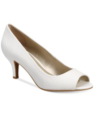 Karen Scott Mory Peep-Toe Pumps, Created for Macy's Women's Shoes 6611257