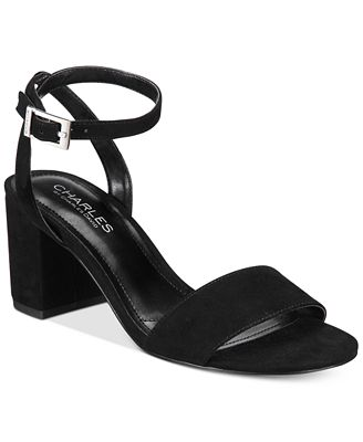 CHARLES By Charles David Keenan Block-Heel Sandals
