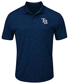 Majestic Men's Tampa Bay Rays First Hit Polo Shirt