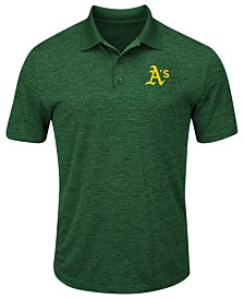 Majestic Men's Oakland Athletics First Hit Polo Shirt