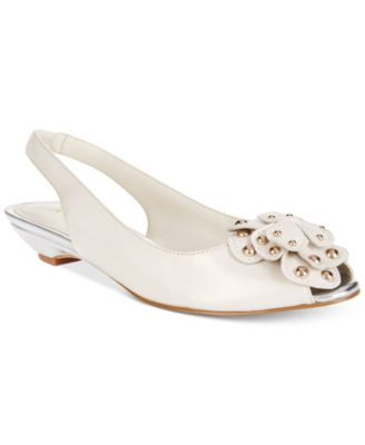 Image of Anne Klein Farrah Slingback Embellished Sandals