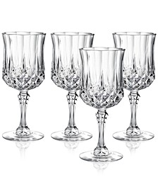 Cristal D'Arques Set of 4 Wine Glasses