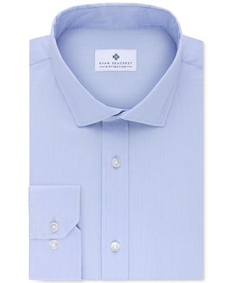 Ryan Seacrest Distinction™ Men's Slim-Fit Ultimate Stretch Non-Iron Dress Shirt, Only at Macy's