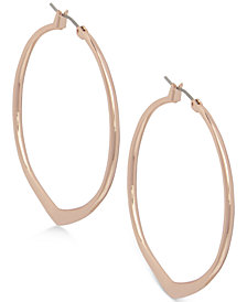 Vera Bradley Pointed Hoop Earrings