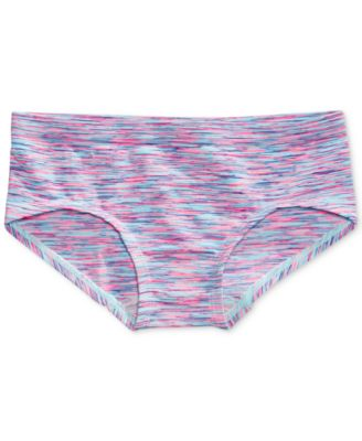 Space-Print Seamless Girlshort Underwear, Little Girls & Big Girls