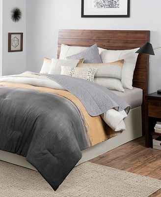 CLOSEOUT! Rothko 10-Pc. Ombré Colorblocked Comforter Sets