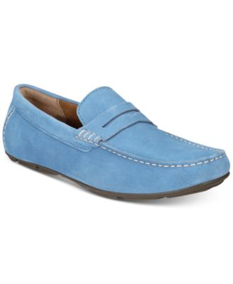 Image of Alfani Men's Sal Suede Penny Drivers, Created for Macy's