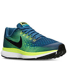 Nike Big Boys'   Air Zoom Pegasus 34 Running Sneakers from Finish Line