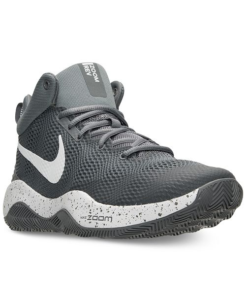 640a8787bb98 Nike Men s Zoom Rev 2017 Basketball Sneakers from Finish Line ...